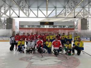 Partita di hockey CPAL – Pompieri Faido